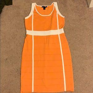 Ashley Stewart Tangerine Bodycon Dress